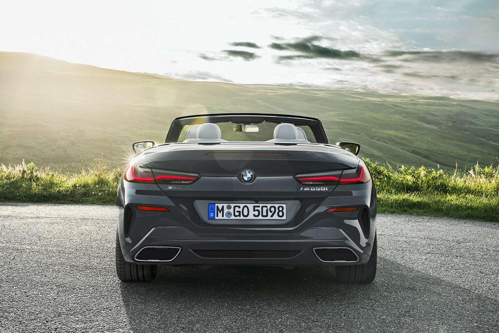 Кабриолет 8-й серии BMW: роскошь, открытая всем ветрам— фото 919732