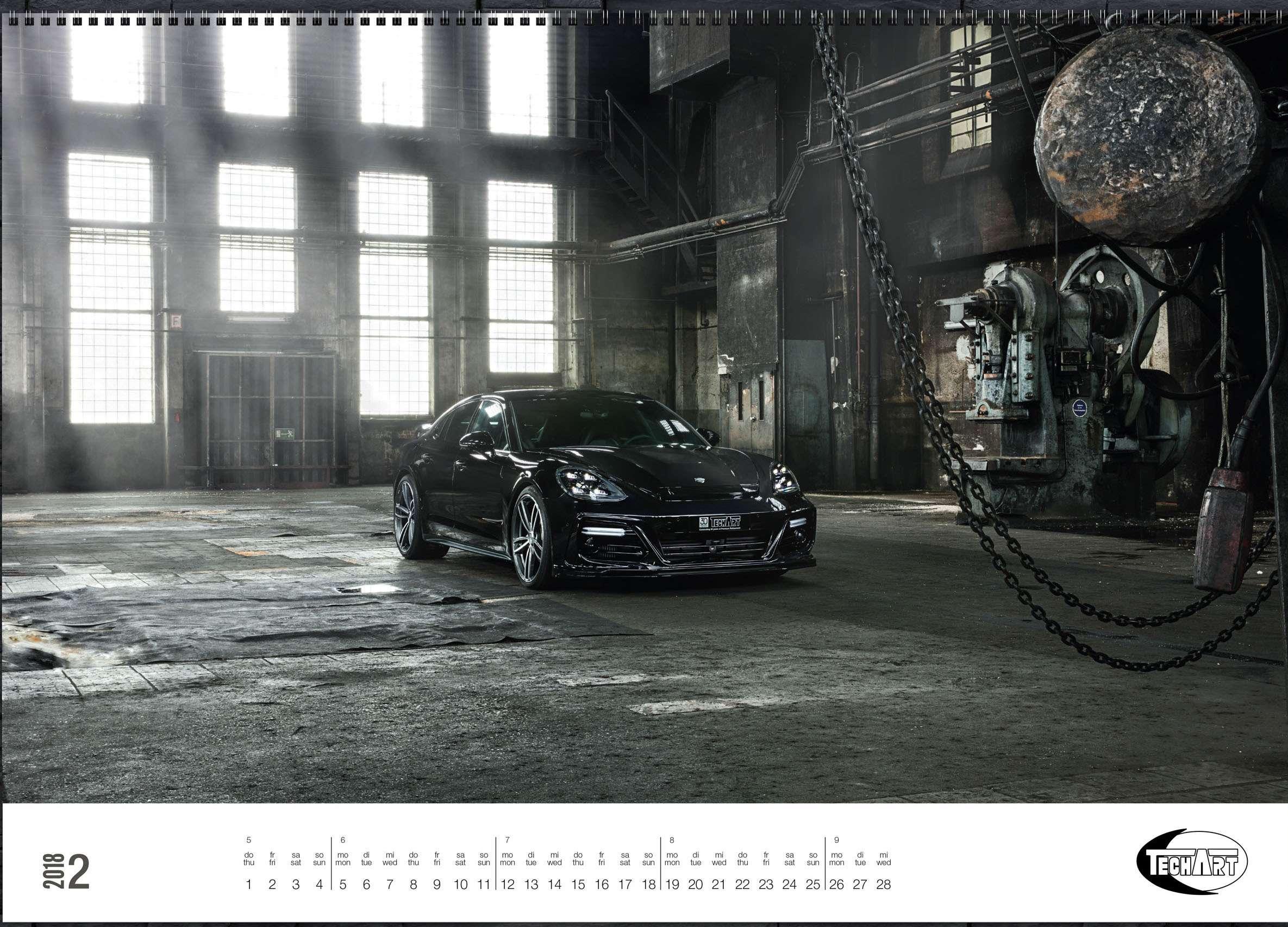 Только красивые машины: календарь Techart— фото 826389