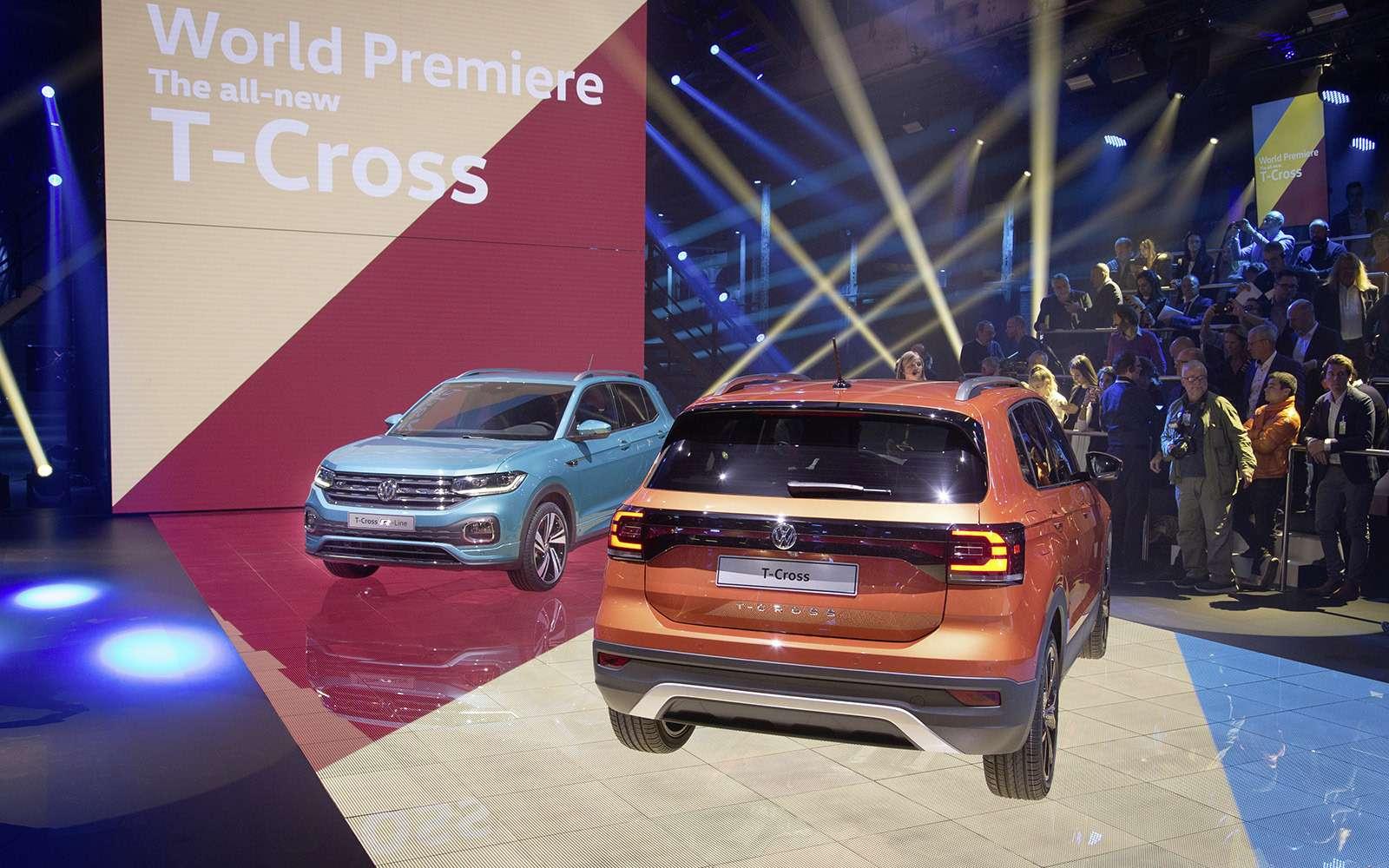 Новый кроссовер Volkswagen: онпоявится вРоссии!— фото 918186