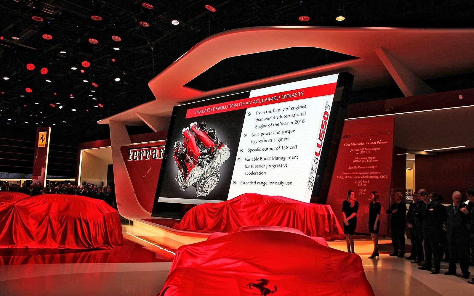 Махнул неглядя: Ferrari GTC4Lusso Tпоменял полный привод натурбонаддув— фото 641671