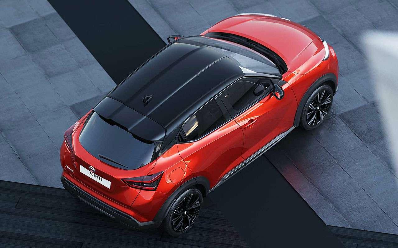 Новый Nissan Juke: легче, больше, злее— фото 994851