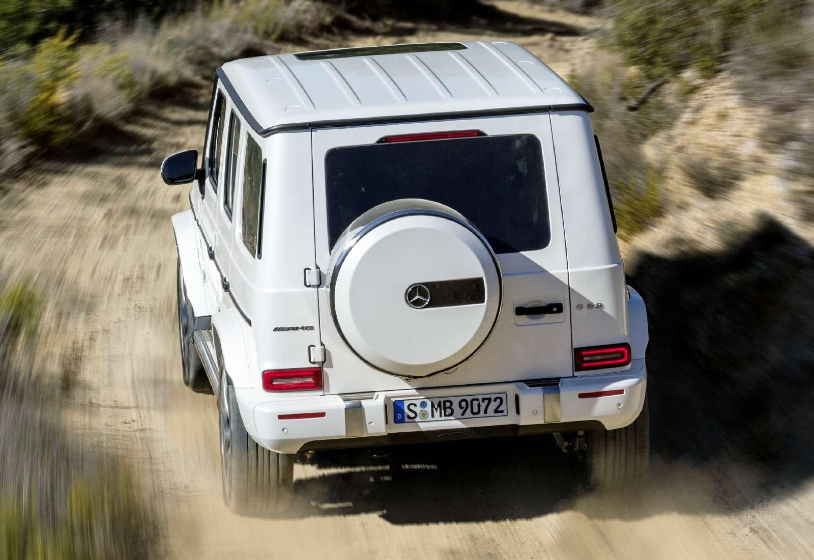 Мажорваген: представлен новый Mercedes-AMG G63— фото 844652