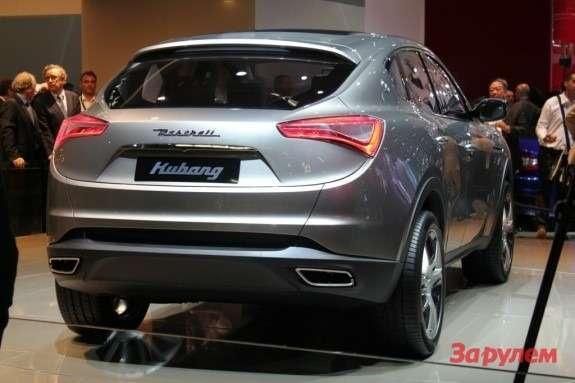 Maserati Kubang Concept rear view
