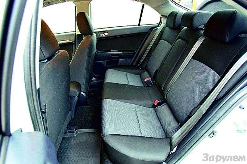 Toyota Auris, Mitsubishi Lancer, Nissan Tiida, Citroen C4: Имею желание…— фото 92613
