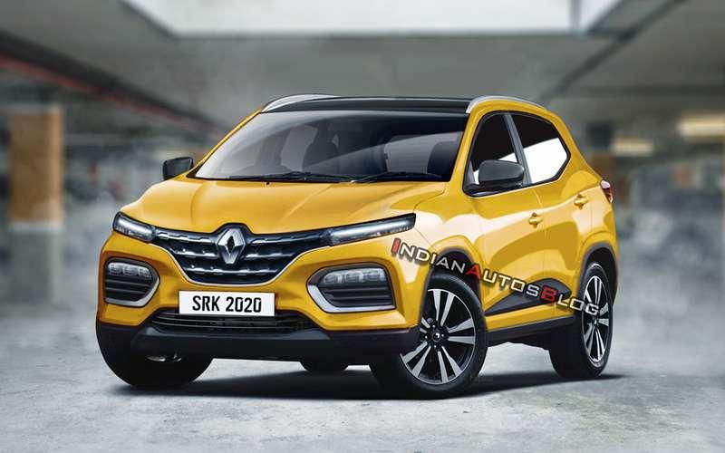 Renault Kiger «очистили» откамуфляжа