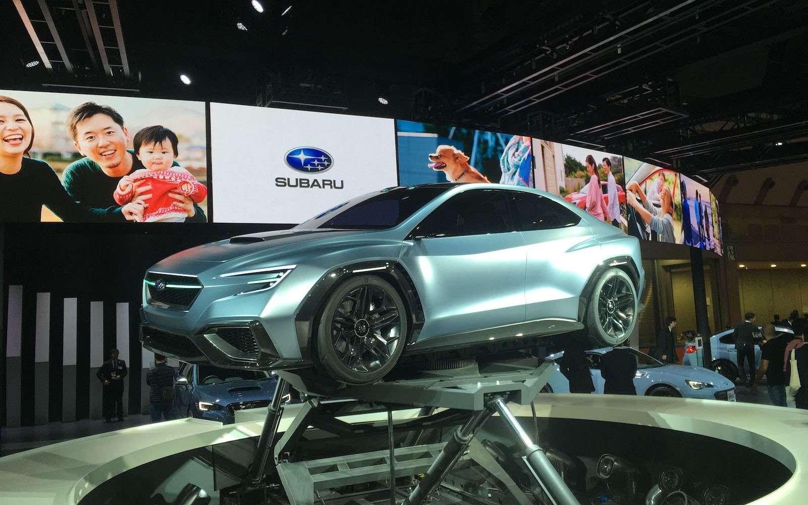 Subaru сохранит легенду: первые подробности обудущем WRX— фото 827638