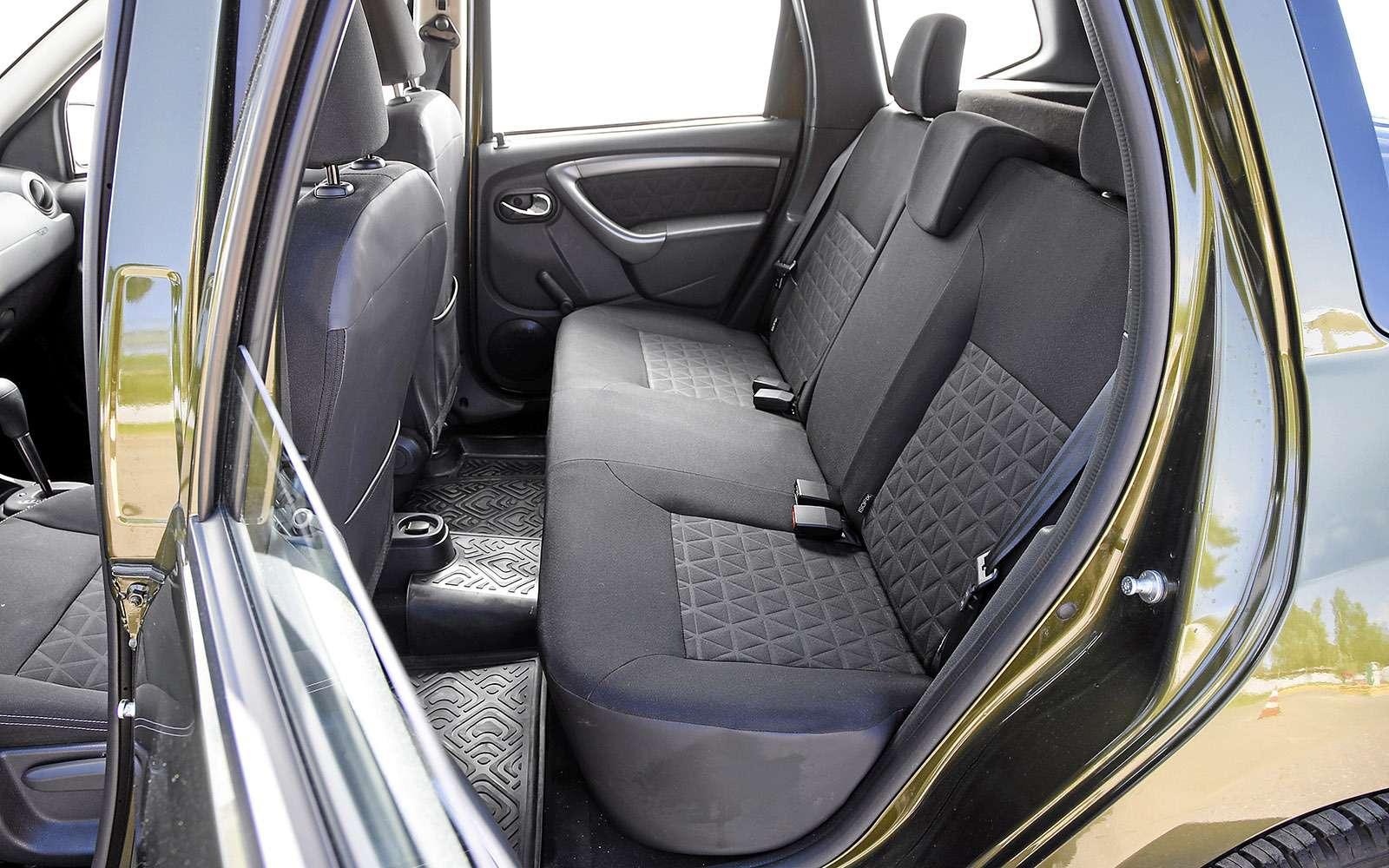 Renault Kaptur, Renault Duster, Suzuki Vitara: мода от-каптюр— фото 619987
