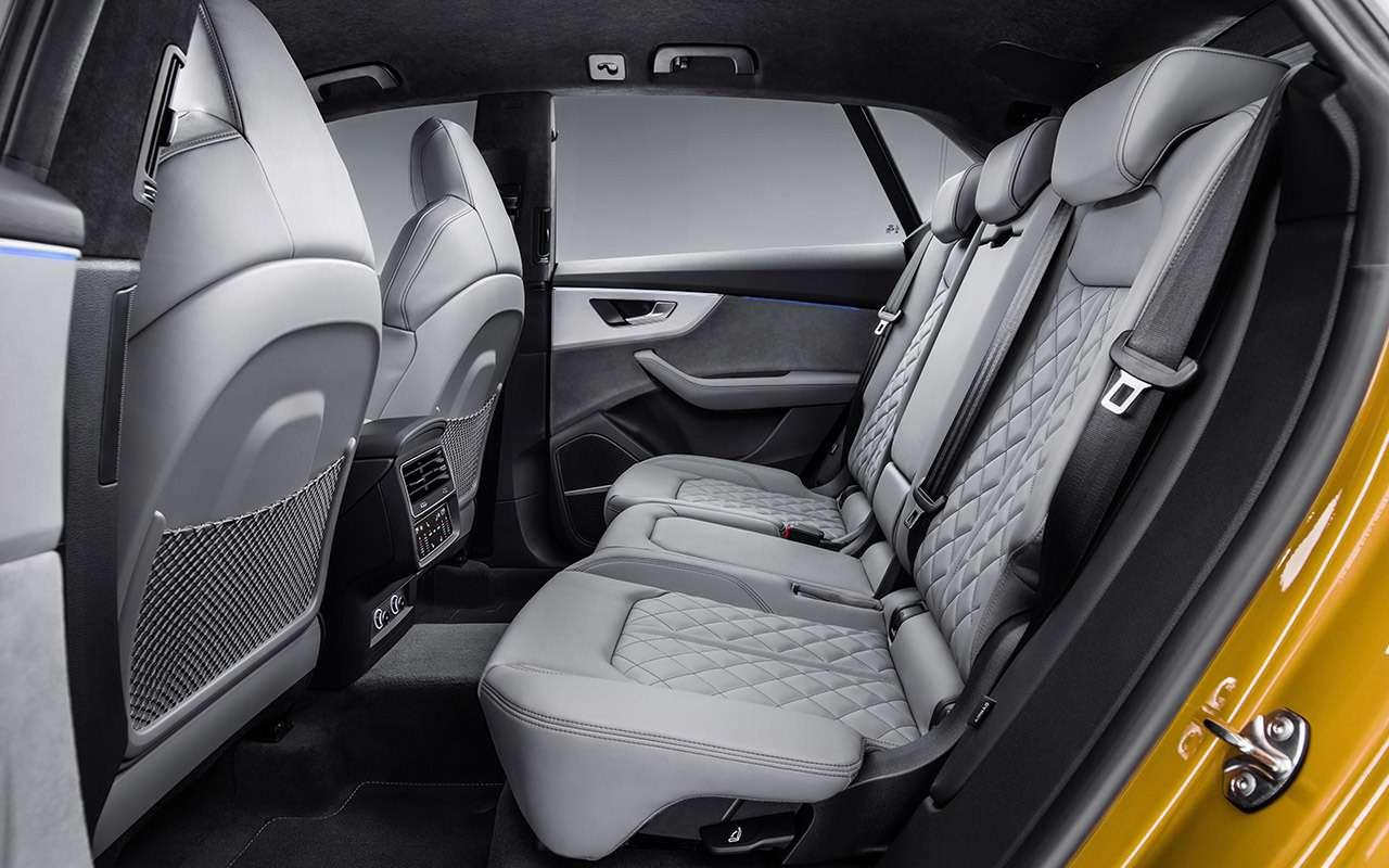 Новый Audi Q8: когда восемь меньше семи— фото 882154