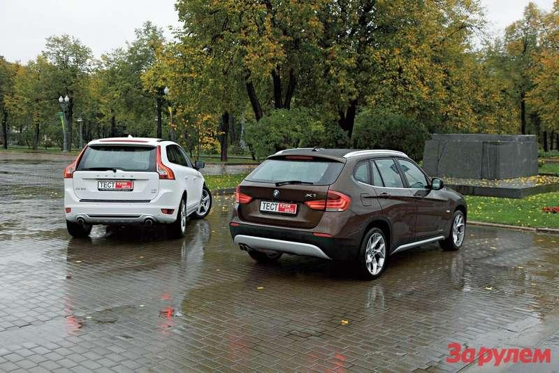 БМВ-X1vs «Вольво-XC60»