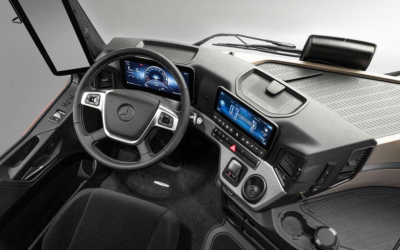 Mercedes выпустил S-класс длядальнобойщиков— фото 1256648
