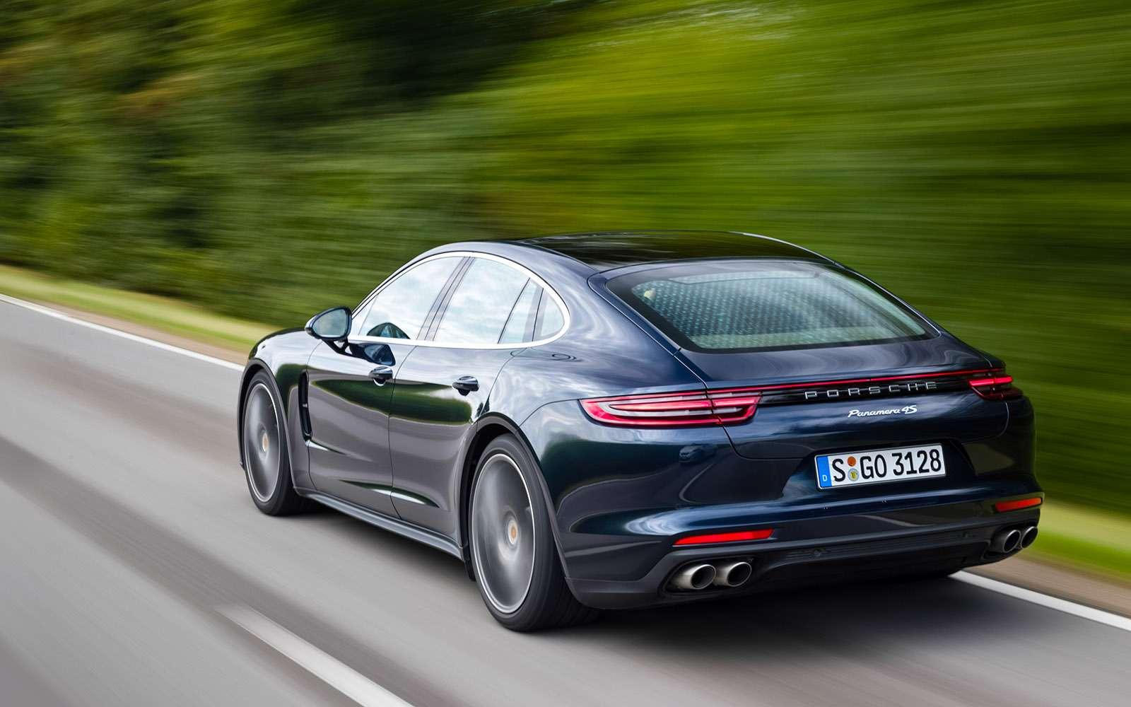 Porsche Panamera 2017: цитата из911— фото 644147