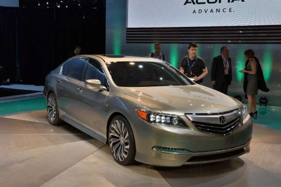 Acura RLX Concept side-front view