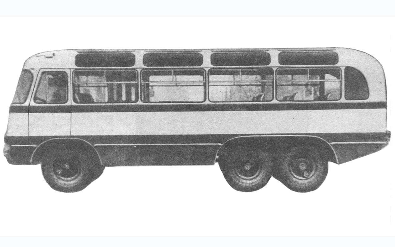 9 самых необычных советских автобусов (итроллейбусов)— фото 1258921