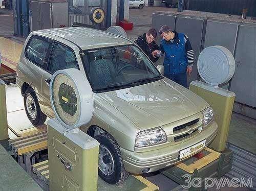 Suzuki Grand Vitara. ИЗДИНАСТИИ САМУРАЕВ— фото 23440
