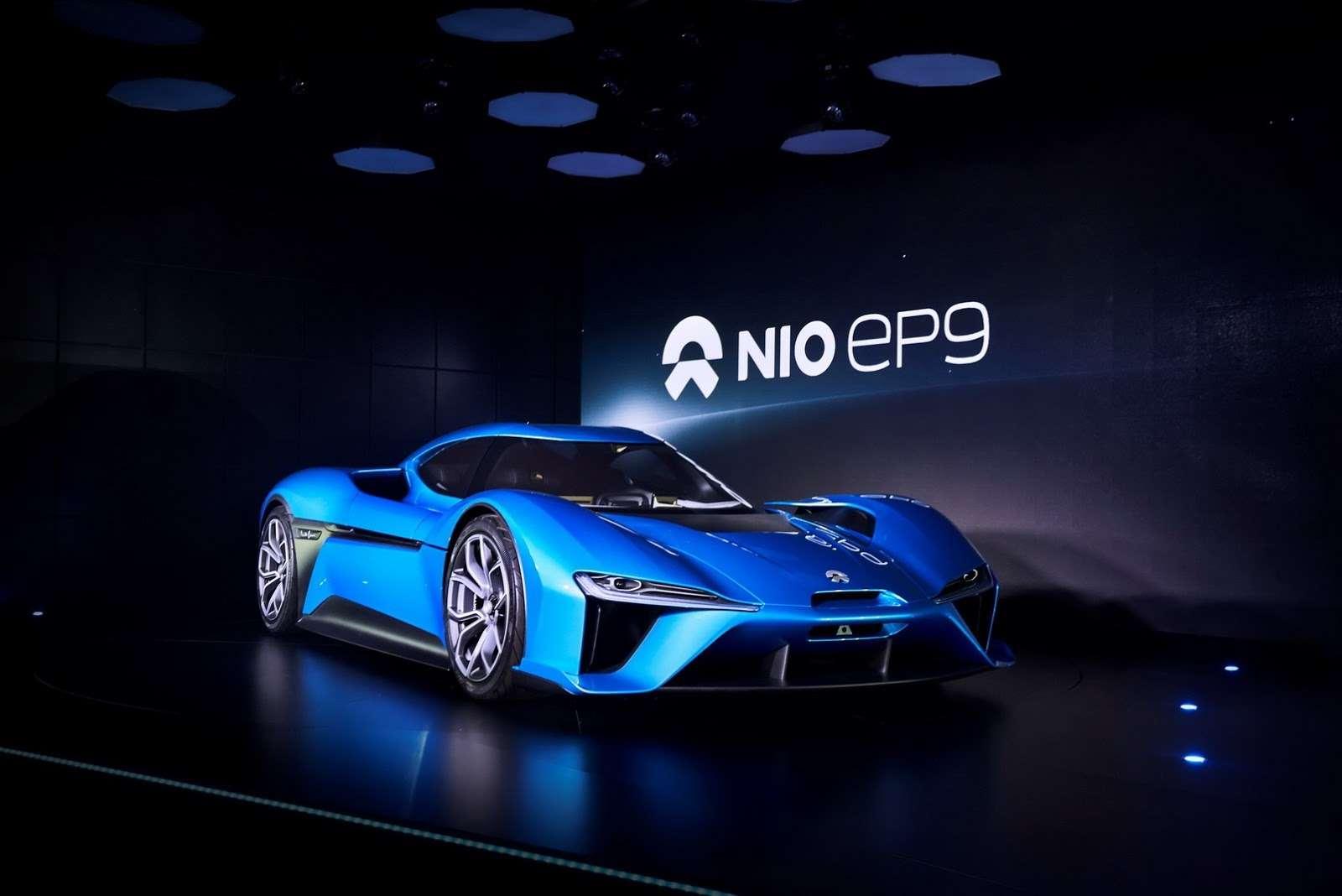 Захотели исмогли: китайцы запустили электрокар NextEV Nio EP9— фото 667411