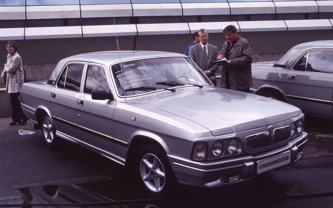 12версий ГАЗ-3102, которых выникогда невидели— фото 1007759