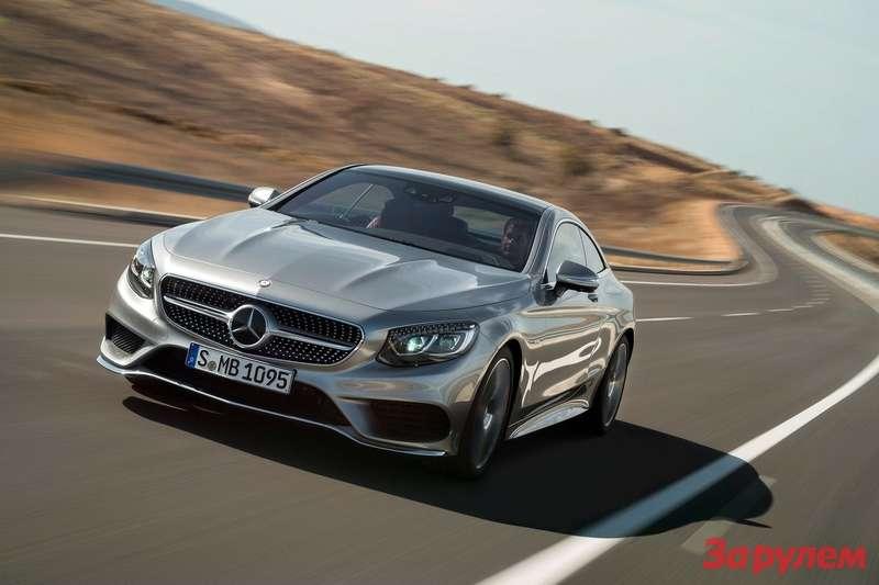 Купе Mercedes-Benz S-класса