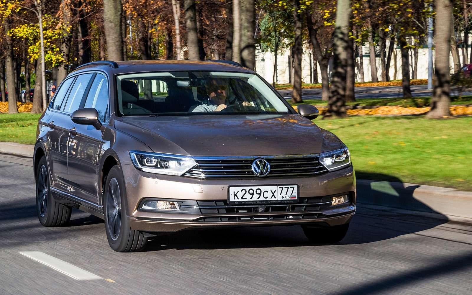 Volkswagen Passat Variant или Alltrack: зачто доплата?— фото 693517