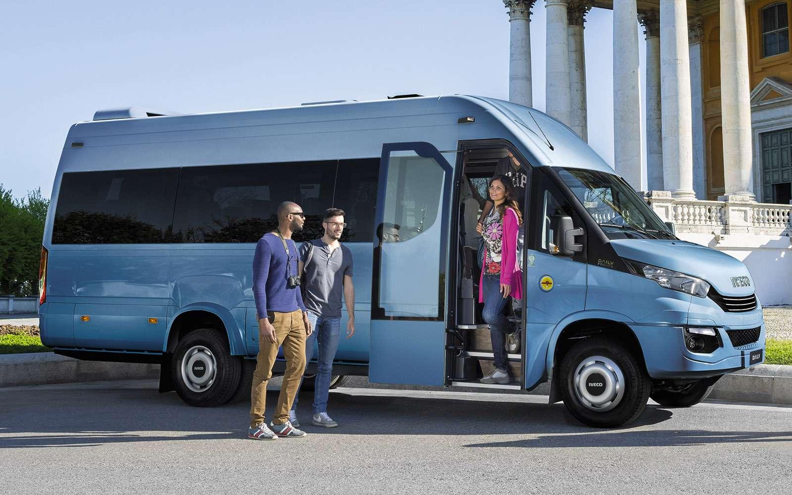 Микроавтобусы Iveco Daily, служащие теперь маршрутками встолице, очень хороши