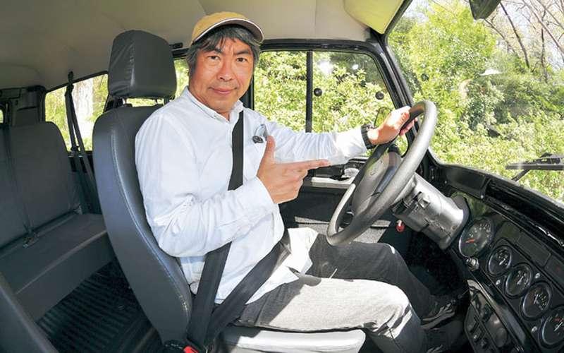 Хантер проверяет тебя напрочность: японец тестирует УАЗ