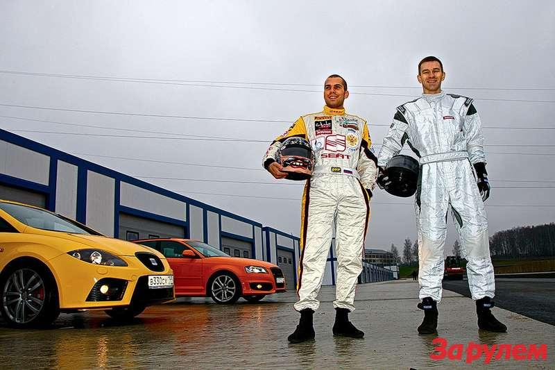 Олег Петриков (слева) иМаксим Гомянин
