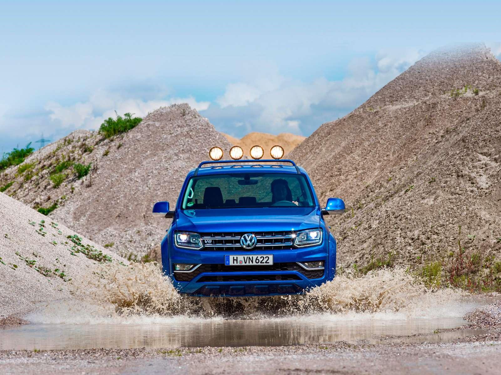 Volkswagen Amarok V6Aventura: всё включено— фото 616515
