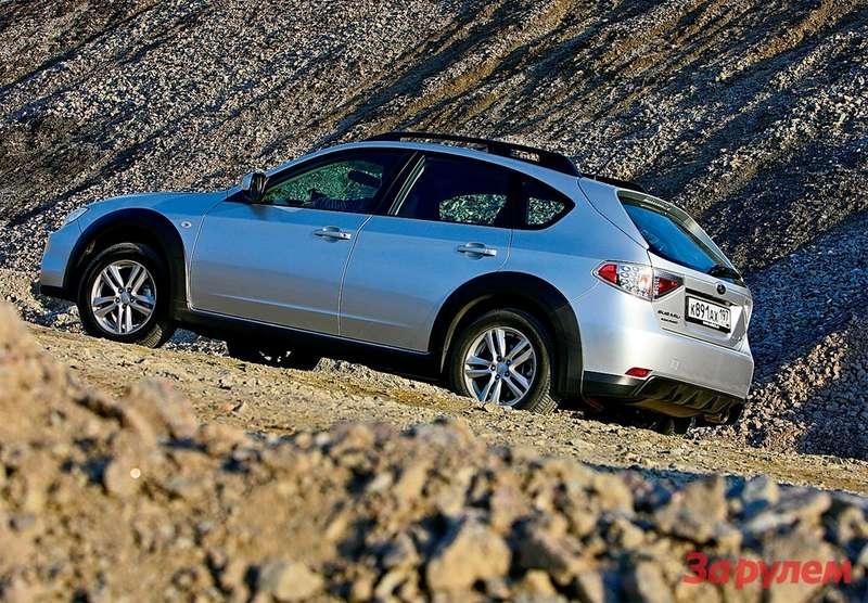 Subaru Impreza XV— ностальгия потем «субару», которые, невзирая нанекоторые недостатки, всегда выделялись ездовой, водительской изюминкой.