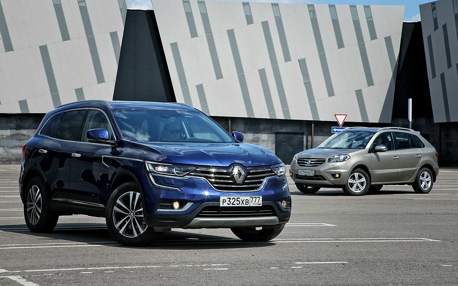 Чемновый Renault Koleos лучше старого— фото 763854