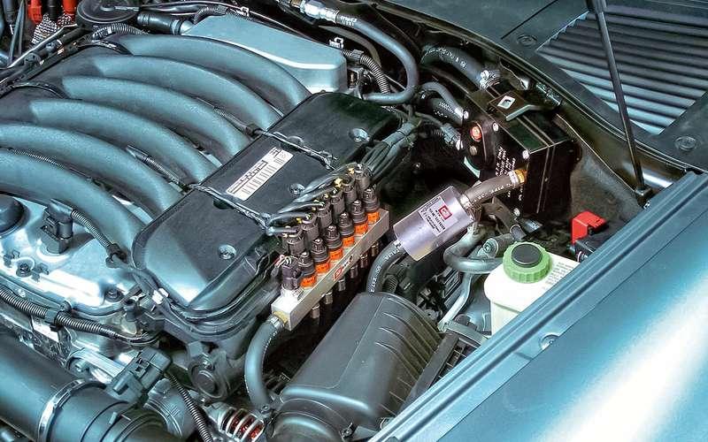 Газовой оборудования длядвигателя