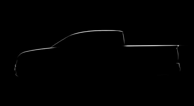 Honda releases sketch of the next-gen Ridgeline