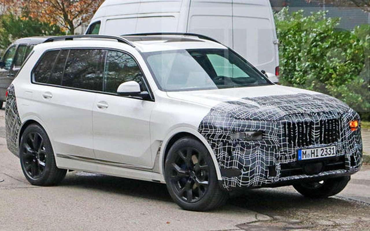 BMWX7готовится крестайлингу— фото 1220934