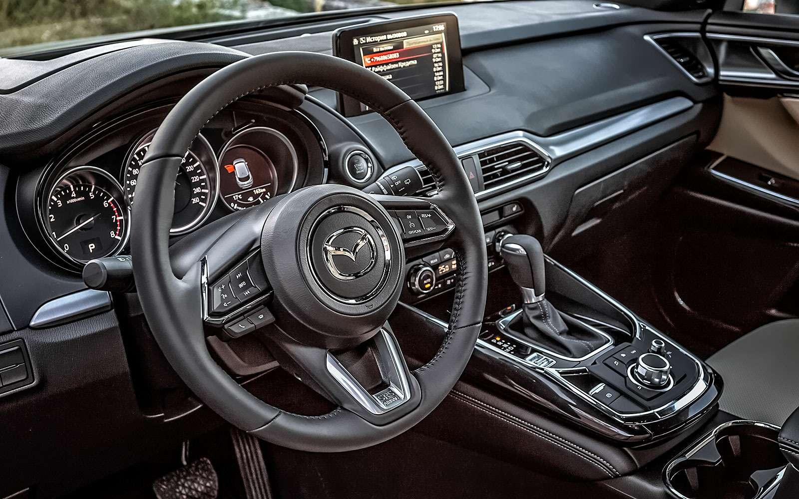 Mazda CX-9 второго поколения: первый тест— фото 805946