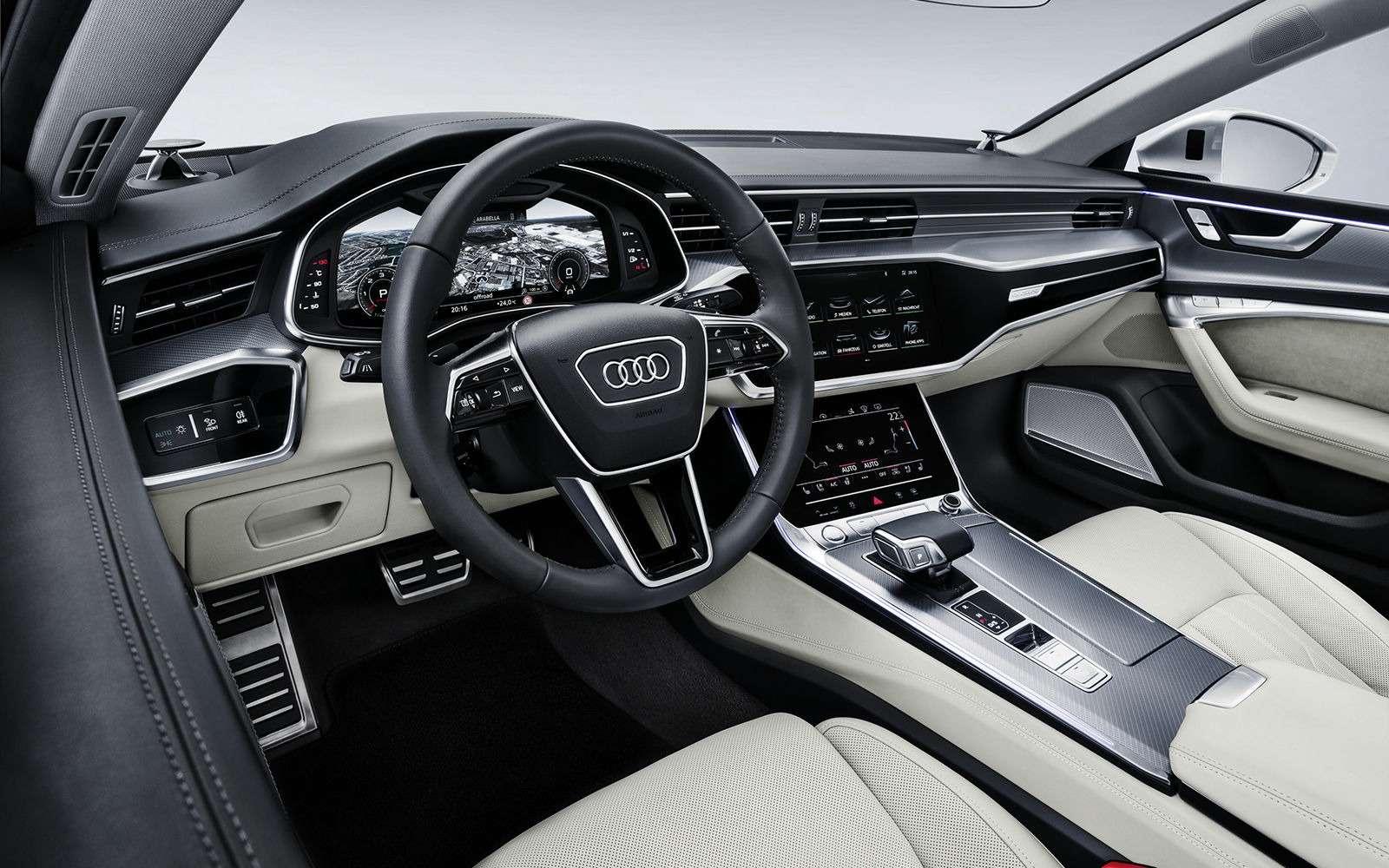 Новая Audi A7Sportback— вся насенсорах— фото 807158