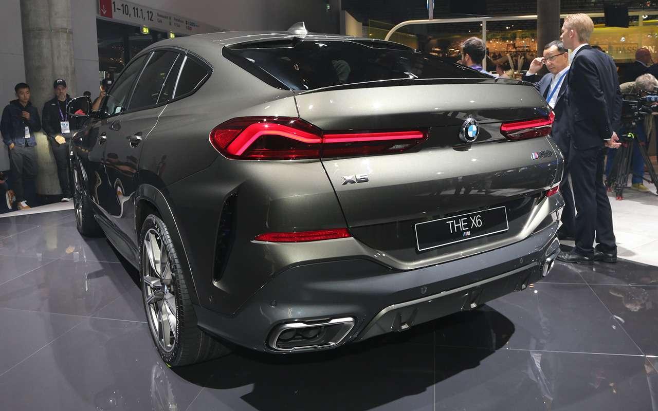 Новый BMW X6 с памятью на последние 50 м пути: это как? — фото 995364