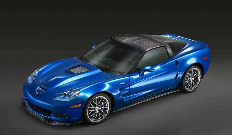 Chevrolet Corvette ZR-1на трассе Нюрбургринга: 7:26.4на круг— фото 348831