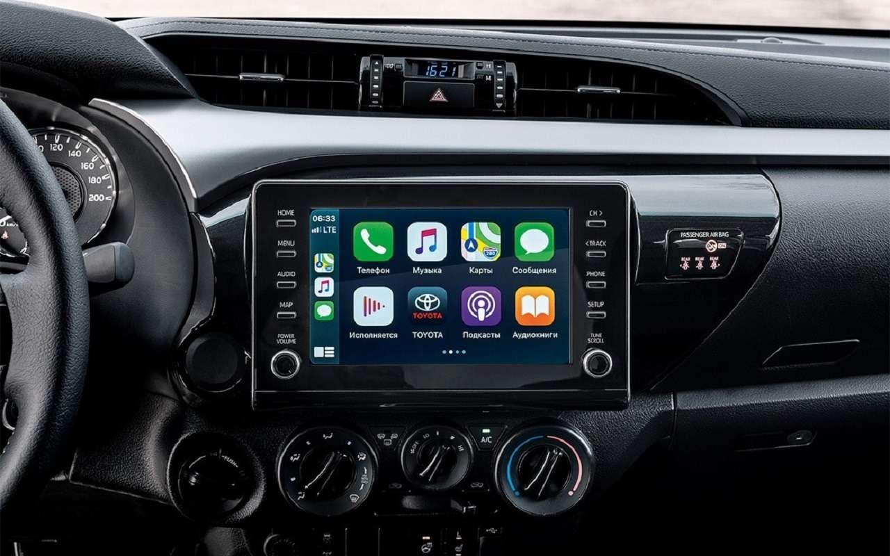 Обновленные Toyota Fortuner иHilux: открыт прием заказов— фото 1154170
