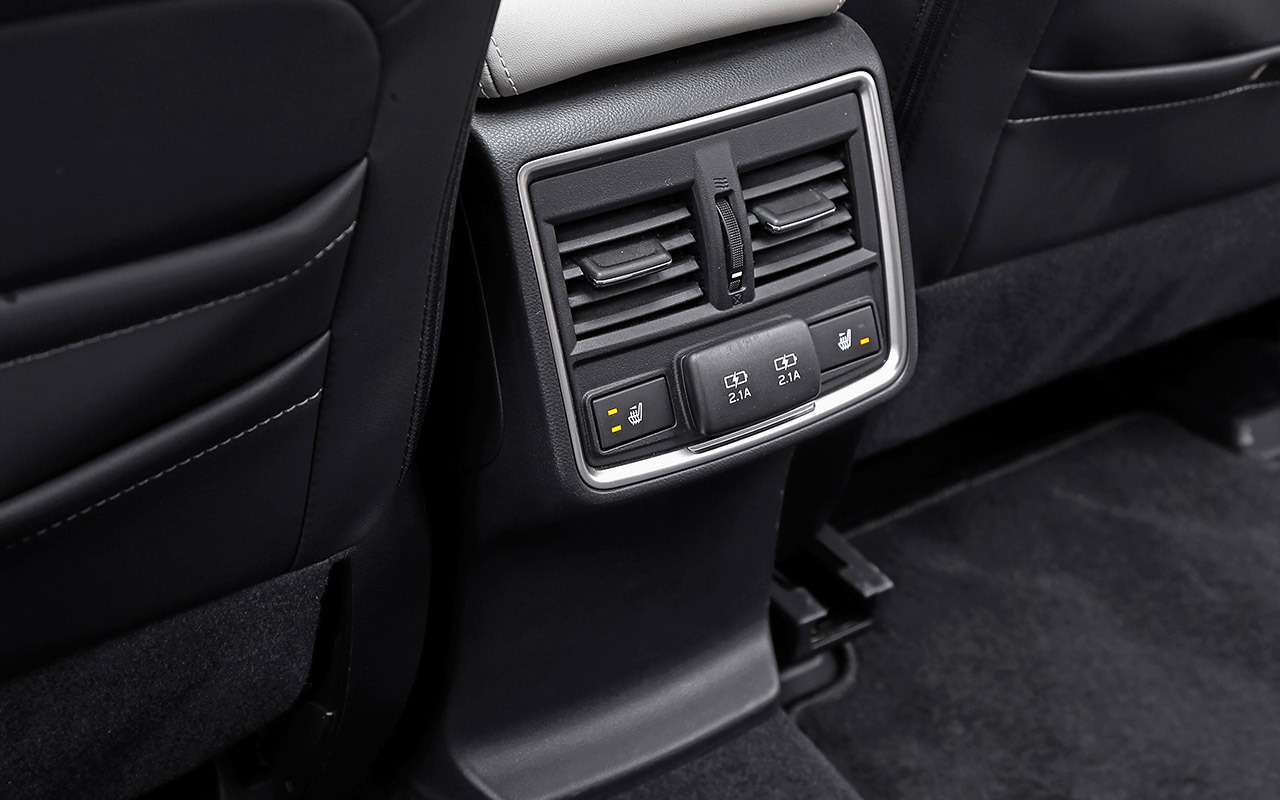 Новый Subaru Forester против конкурентов: большой тест кроссоверов— фото 935671