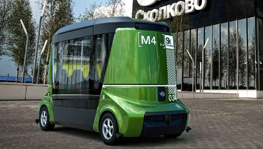 В Москве показали прототип первого российского автобуса-беспилотника— фото 610753