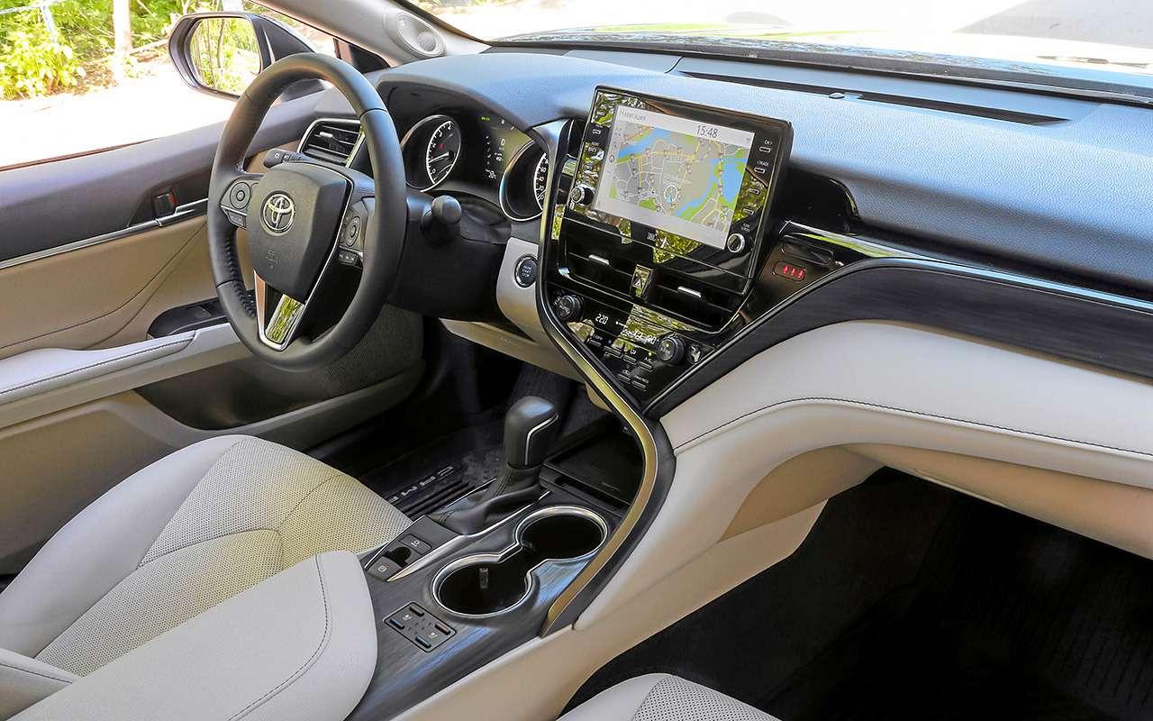 Toyota Camry, Kia K5, VWPassat— большой тест-сравнение— фото 1262492