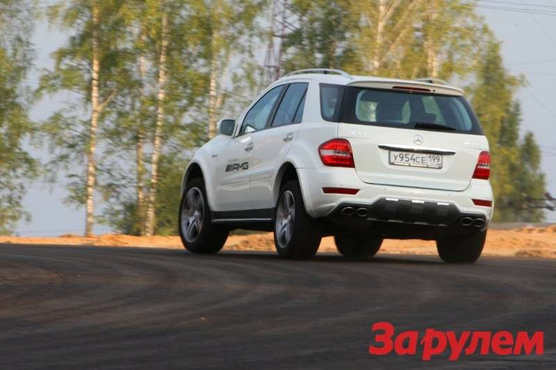 Mercedes-Benz ML63 AMG