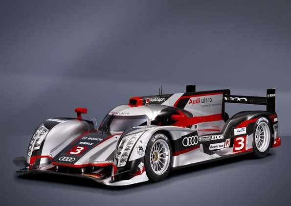 Weltpremiere Audi R18 e-tron quattro /R18 ultra am29. Februar 2012in Muenchen