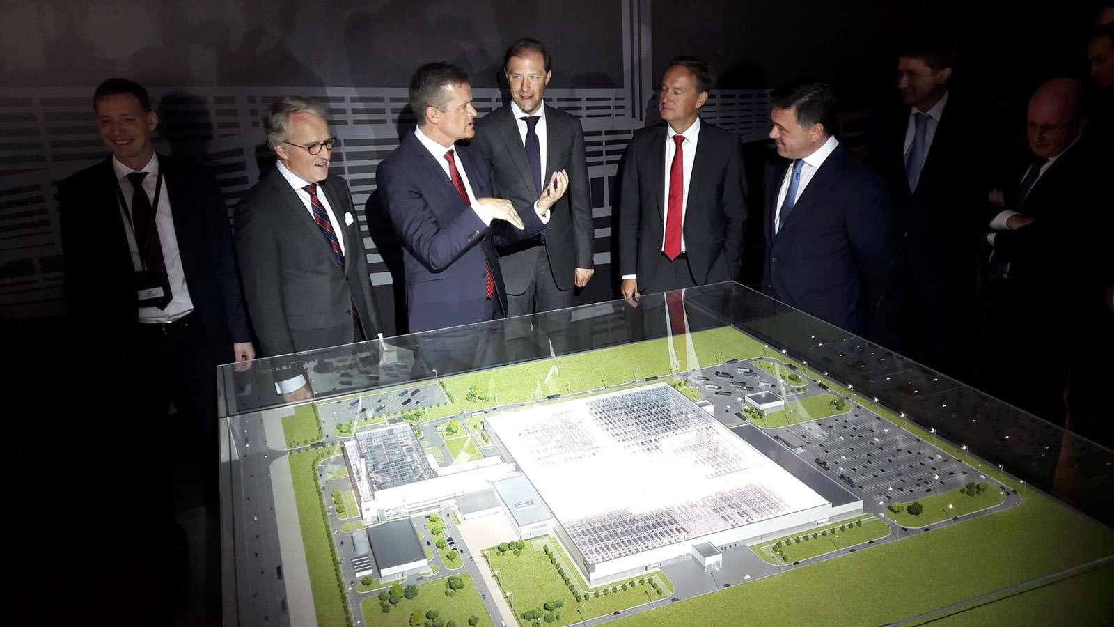 Завод Mercedes-Benz вРоссии— началось строительство!— фото 766453