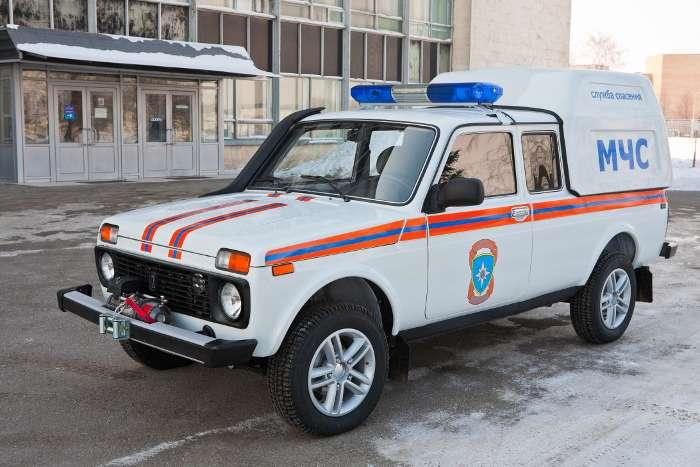 Lada 4Х4для МЧС