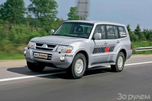 Тест Ford Explorer, Mitsubishi Pajero, Nissan Pathfinder. Ровесники века— фото 57028