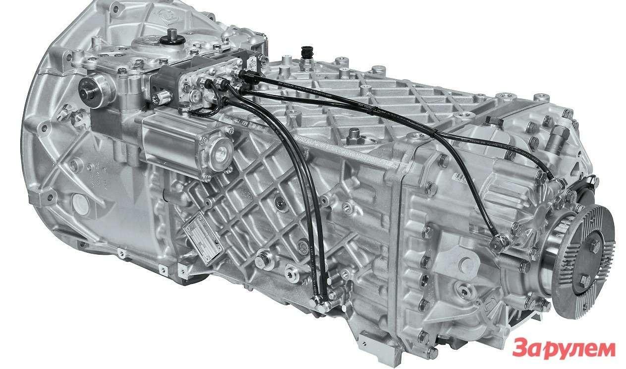 Применение коробок ZF 16S221 семейства Ecosplit—  несомненное достоинство  грузовиков Hino 700