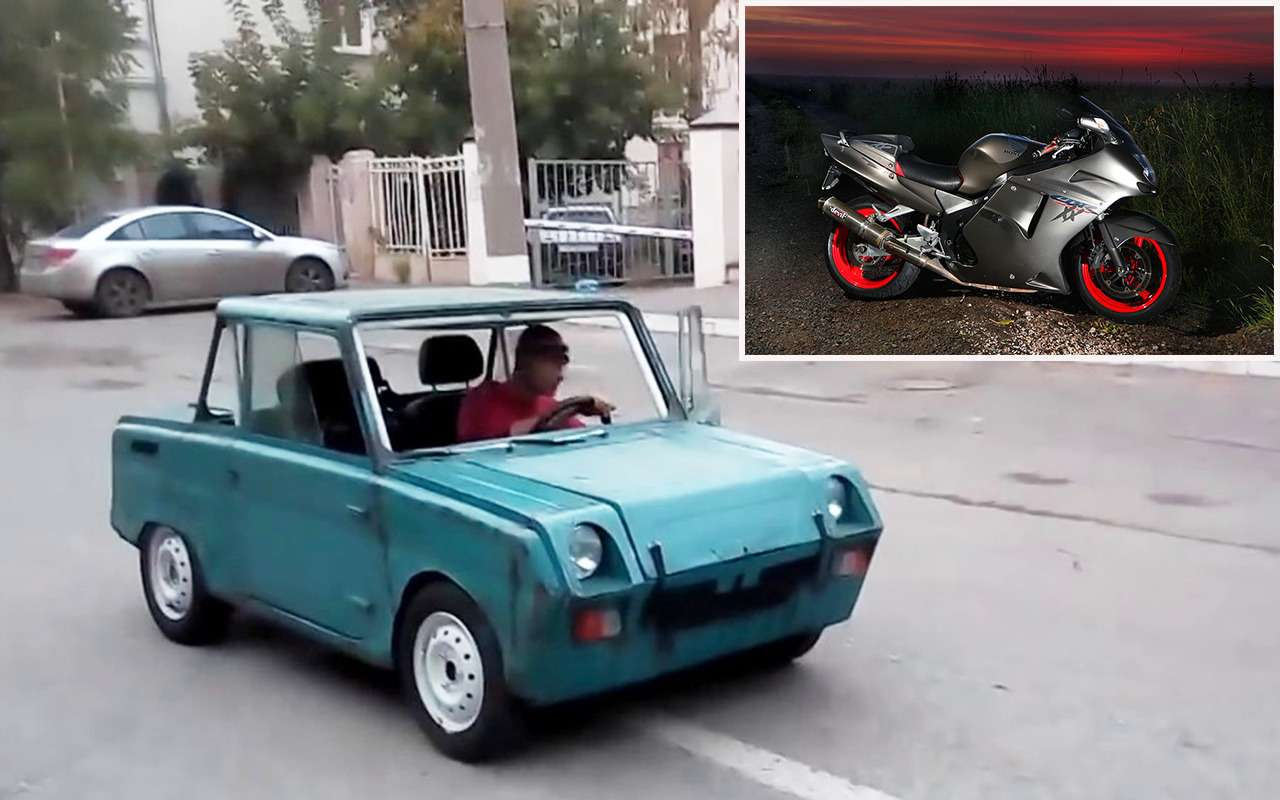 УАЗ, Нива, Волга...— 13наших моделей синостранными моторами— фото 943902
