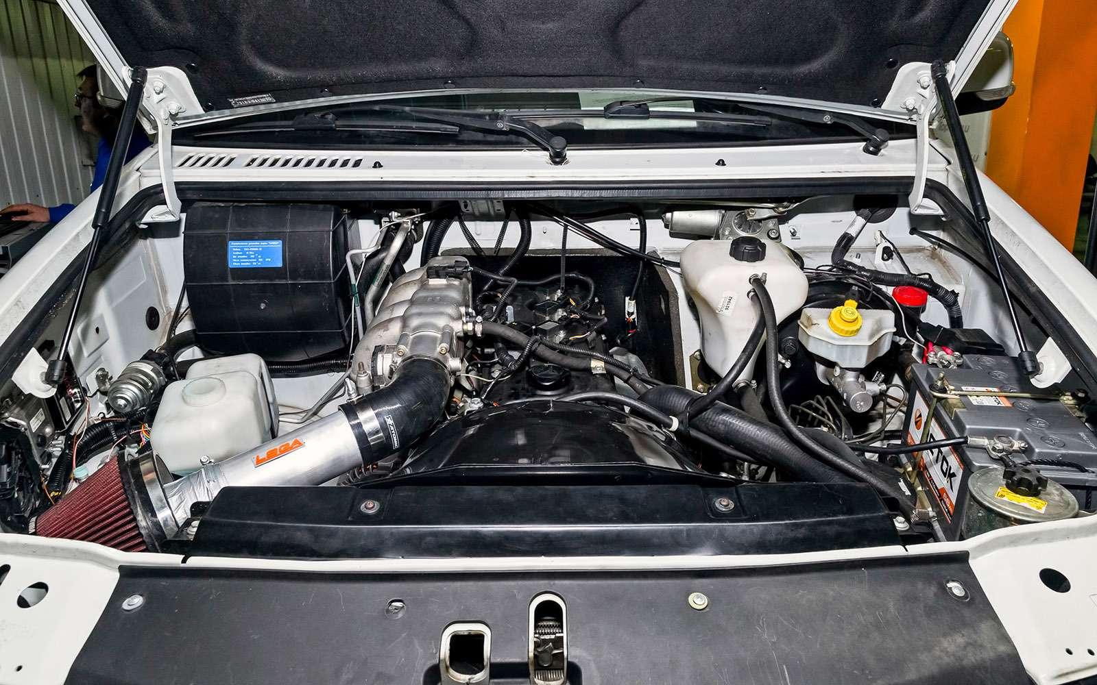Форсируем мотор Патриота: плюс полсотни лошадей!— фото 731328
