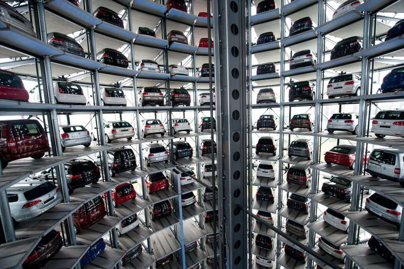 European car sales slump amid debt crisis