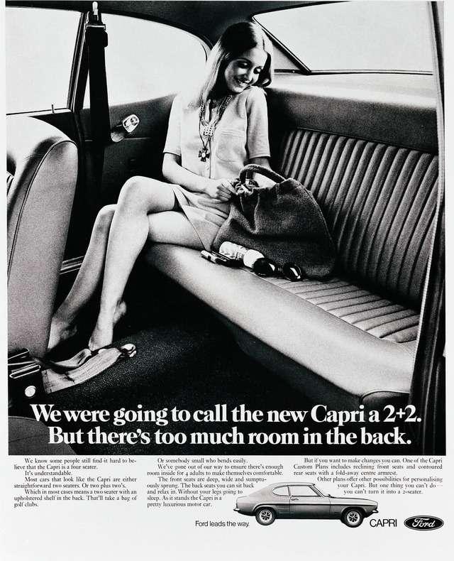 Capri— small car, big legroom