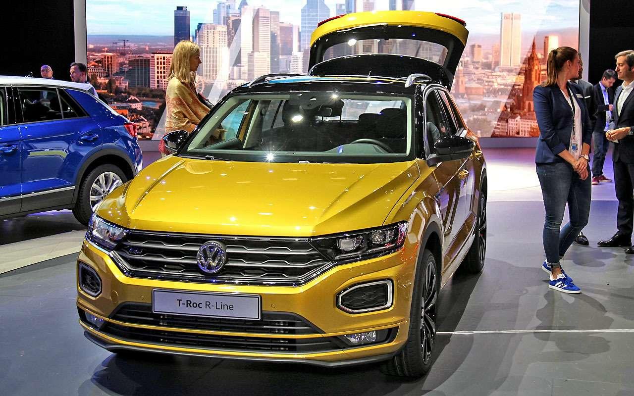 Новый Duster идругие премьеры автосалона воФранкфурте: онлайн-трансляция. Часть 1— фото 793743